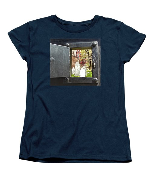 Women's T-Shirt (Standard Cut) featuring the photograph Hidden New York by Joan Reese