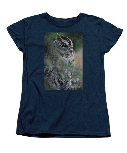 Women's T-Shirt (Standard Cut) featuring the photograph Hidden by Sharon Elliott
