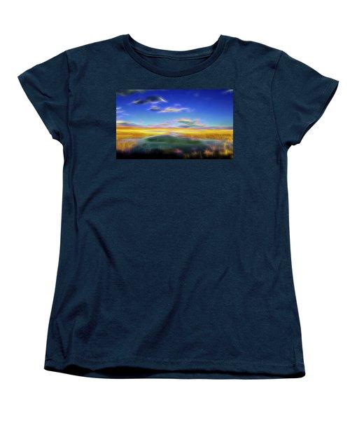 High Desert Lake Women's T-Shirt (Standard Cut) by William Horden