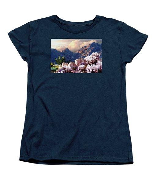 High Desert Sunrise Women's T-Shirt (Standard Cut) by Ron Chambers