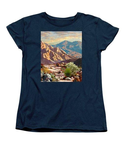 High Desert Wash Portrait Women's T-Shirt (Standard Cut) by Ron Chambers