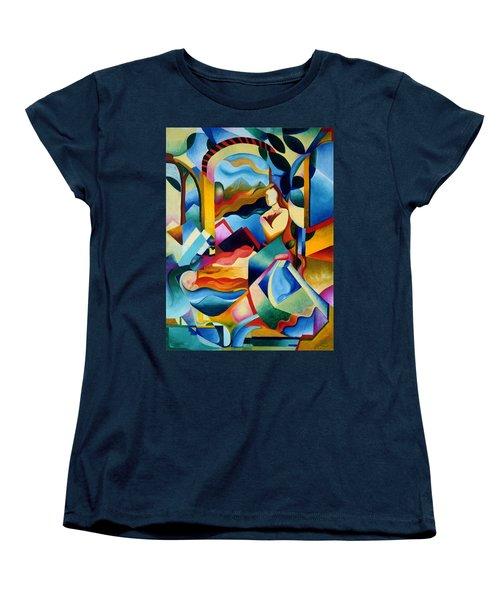 High Sierra Women's T-Shirt (Standard Cut) by Sally Trace