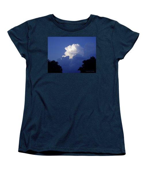 High Towering Clouds Women's T-Shirt (Standard Cut) by Verana Stark