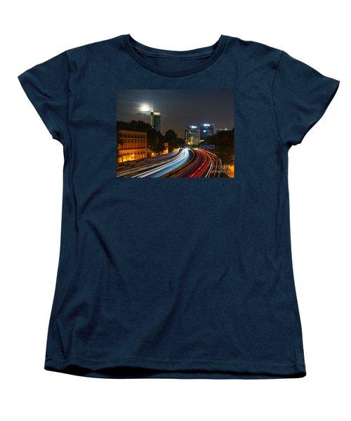 Highway To Essen Women's T-Shirt (Standard Cut) by Daniel Heine