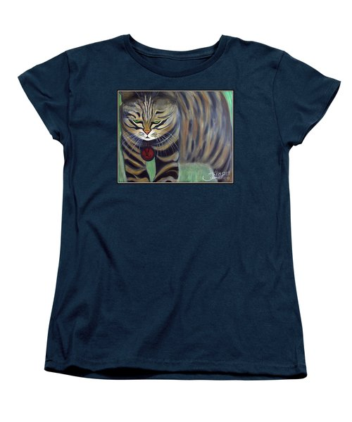 His Lordship Monty Women's T-Shirt (Standard Cut) by Jolanta Anna Karolska