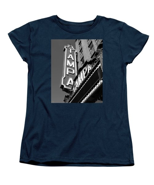 Historic Tampa Women's T-Shirt (Standard Cut) by David Lee Thompson