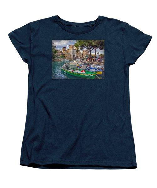 History At Lake Garda Women's T-Shirt (Standard Cut) by Hanny Heim
