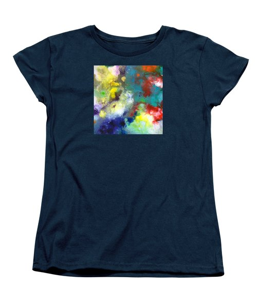 Holding The High Watch Canvas Two Women's T-Shirt (Standard Cut) by Sally Trace