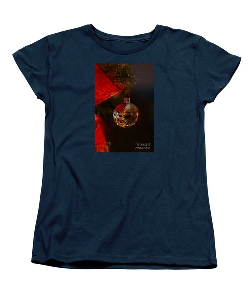 Holiday Season Women's T-Shirt (Standard Cut) by Linda Shafer