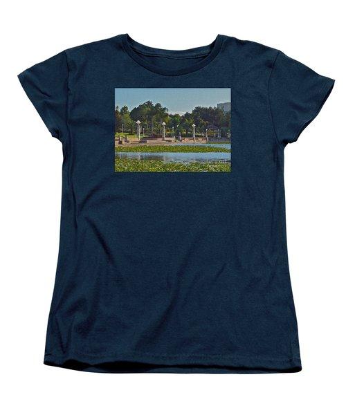 Hollis Gardens II Women's T-Shirt (Standard Cut) by Carol  Bradley