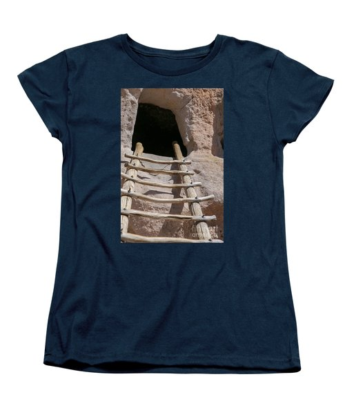 Home In Frijoles Canyon Women's T-Shirt (Standard Cut) by Lynn Sprowl