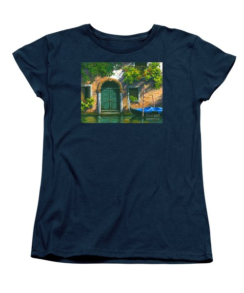 Home Is Where The Heart Is Women's T-Shirt (Standard Cut) by Michael Swanson