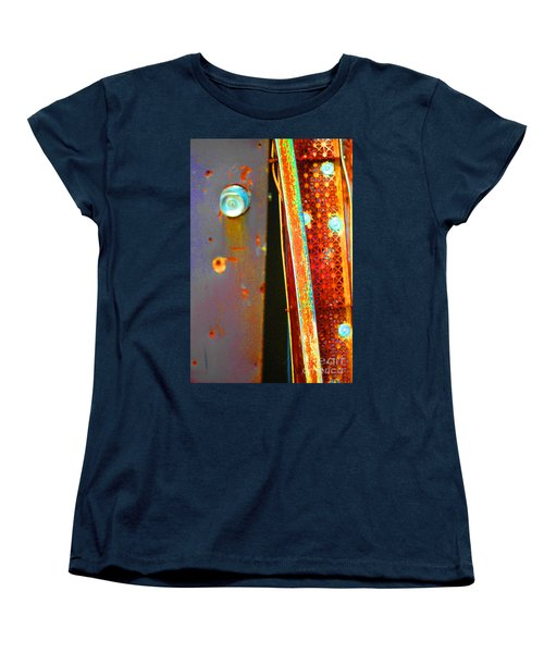 Women's T-Shirt (Standard Cut) featuring the photograph Homeless by Christiane Hellner-OBrien
