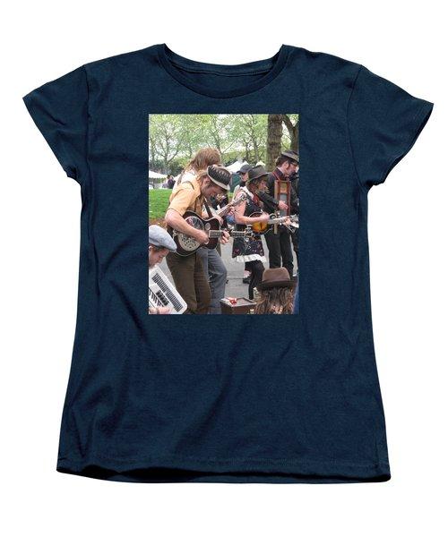 Homestyle Band Women's T-Shirt (Standard Cut) by David Trotter
