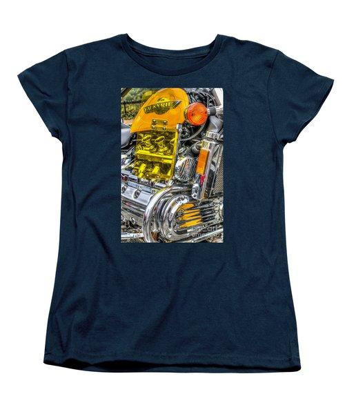 Honda Valkyrie 1 Women's T-Shirt (Standard Cut) by Steve Purnell