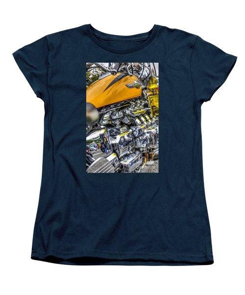 Honda Valkyrie 3 Women's T-Shirt (Standard Cut) by Steve Purnell