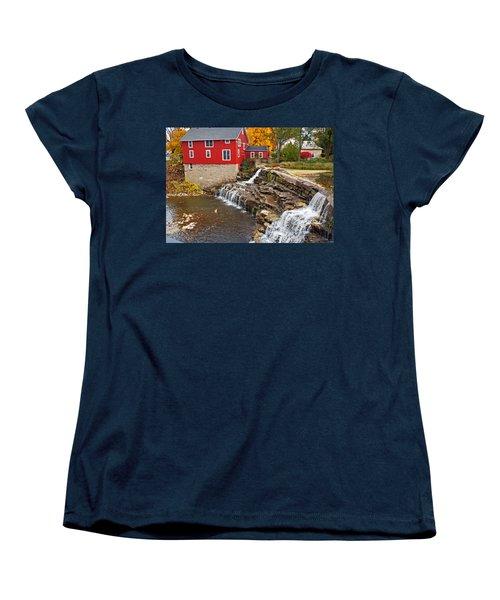 Honeoye Falls 1 Women's T-Shirt (Standard Cut) by Aimee L Maher Photography and Art Visit ALMGallerydotcom