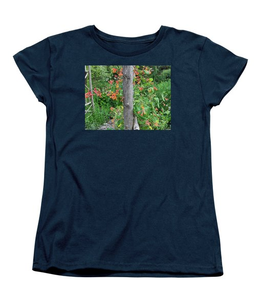 Honeysuckle's Friend Women's T-Shirt (Standard Cut) by Brenda Brown