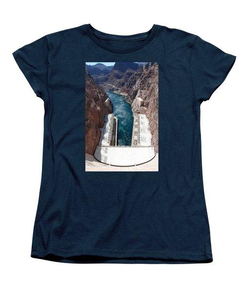 Hoover Dam Black Canyon Women's T-Shirt (Standard Cut)