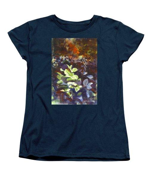 Hostas In The Forest Women's T-Shirt (Standard Cut)