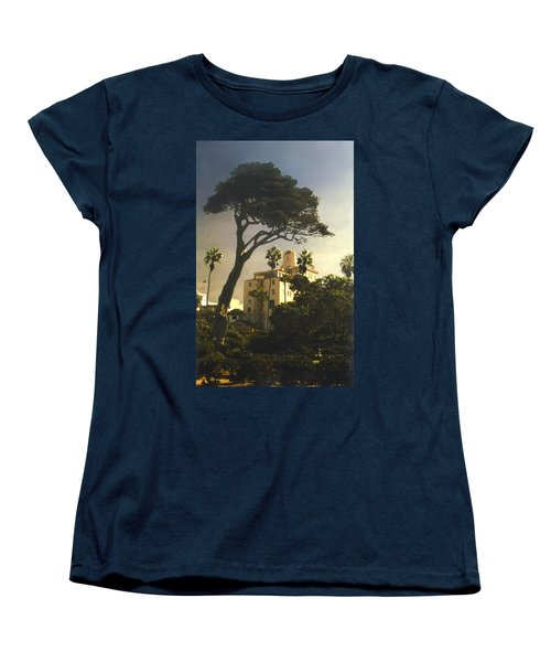 Hotel California- La Jolla Women's T-Shirt (Standard Cut) by Steve Karol