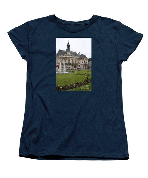 Hotel De Ville - Tours Women's T-Shirt (Standard Cut) by Christiane Schulze Art And Photography