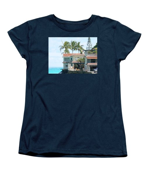 House At Land's End Women's T-Shirt (Standard Cut) by Dona  Dugay