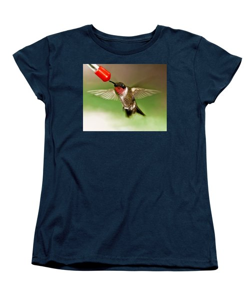 Hummingbird Women's T-Shirt (Standard Cut) by Robert L Jackson