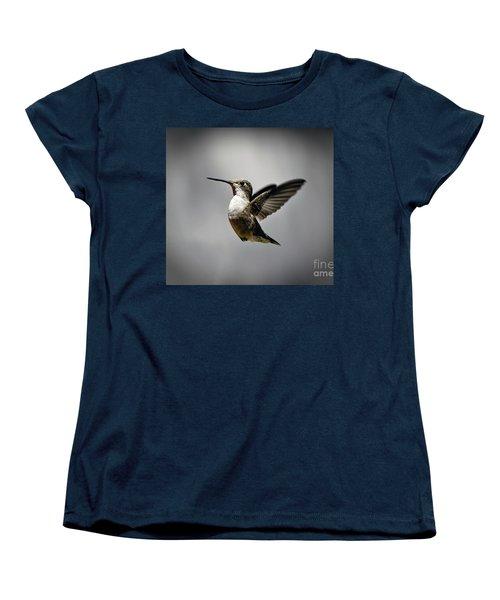 Hummingbird Women's T-Shirt (Standard Cut) by Savannah Gibbs
