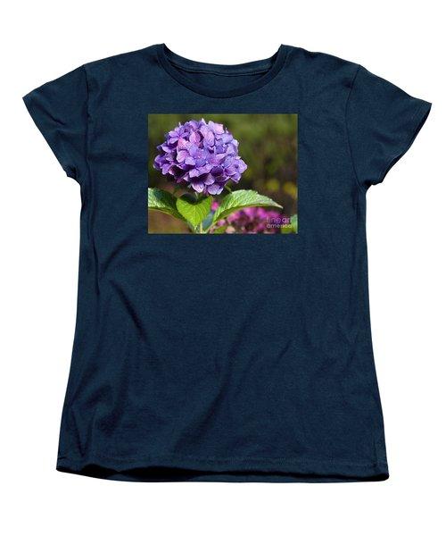 Women's T-Shirt (Standard Cut) featuring the photograph Hydrangea by Belinda Greb