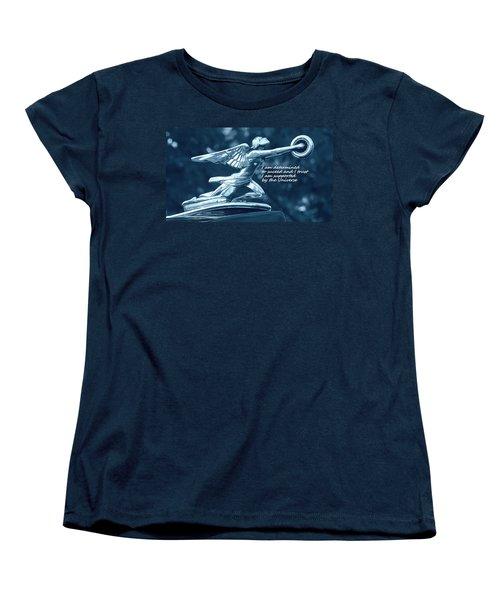 I Am Determined Women's T-Shirt (Standard Cut) by Patrice Zinck