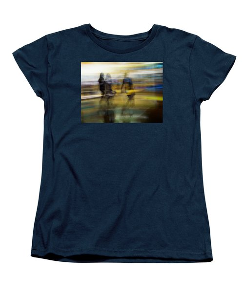 Women's T-Shirt (Standard Cut) featuring the photograph I Had A Dream That You And Your Friends Were There by Alex Lapidus