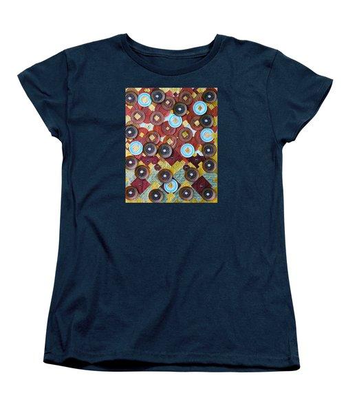 Women's T-Shirt (Standard Cut) featuring the photograph I Love Chocolates by Lorna Maza