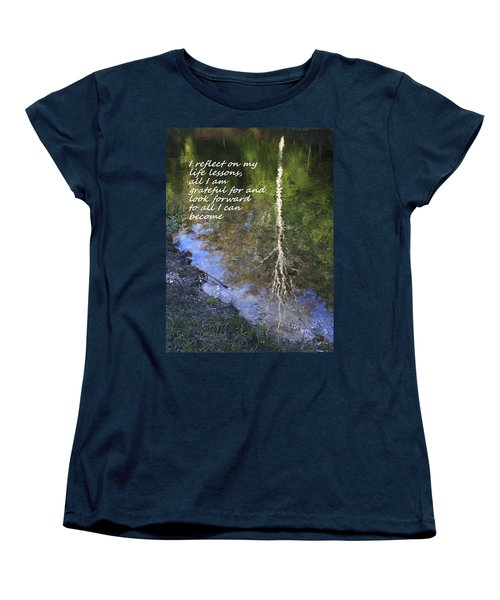 I Reflect Women's T-Shirt (Standard Cut) by Patrice Zinck
