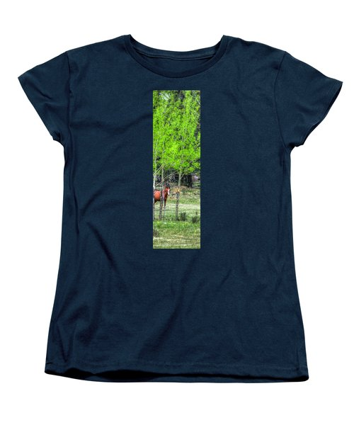 I See You 6172 Women's T-Shirt (Standard Cut) by Jerry Sodorff
