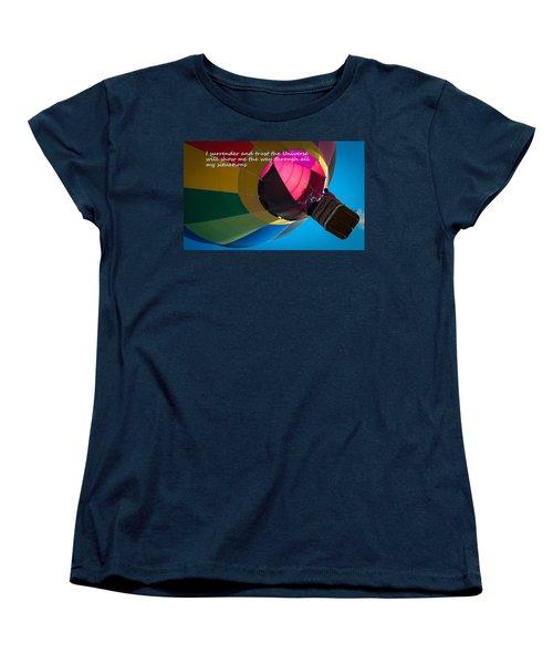 I Surrender And Trust Women's T-Shirt (Standard Cut) by Patrice Zinck