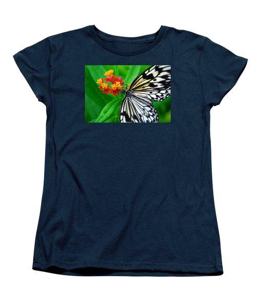 Women's T-Shirt (Standard Cut) featuring the photograph Idea Leuconoe by Carsten Reisinger