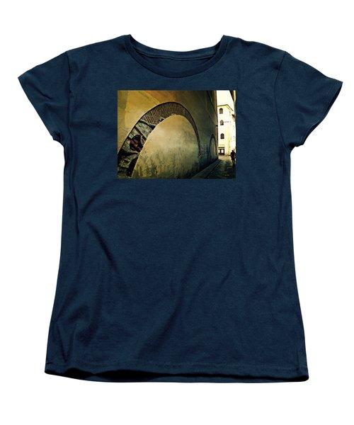 Women's T-Shirt (Standard Cut) featuring the photograph Il Muro  by Micki Findlay