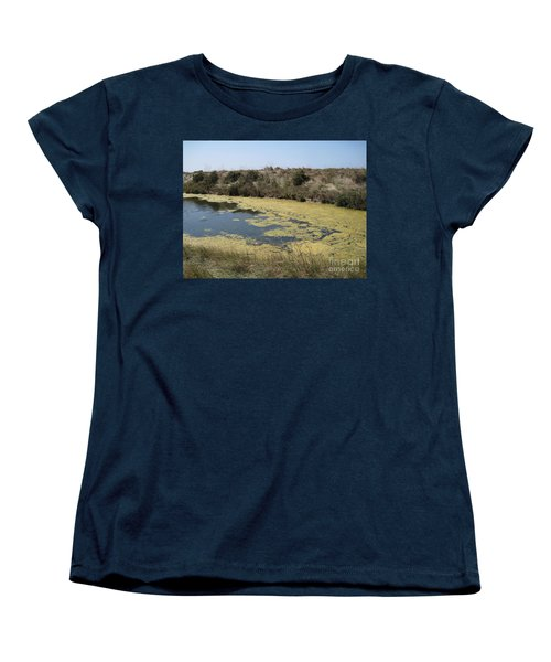 Ile De Re - Marshes Women's T-Shirt (Standard Cut) by HEVi FineArt