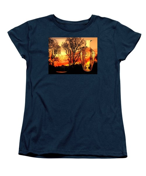 Women's T-Shirt (Standard Cut) featuring the photograph Illusion by Joyce Dickens