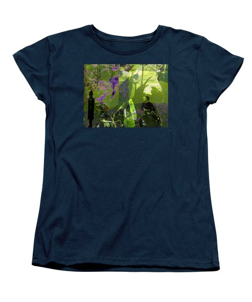Women's T-Shirt (Standard Cut) featuring the digital art In A Dream by Cathy Anderson