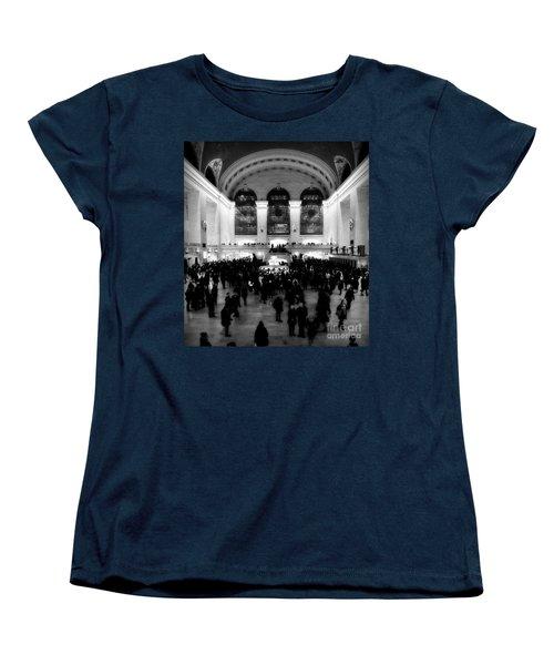 In Awe At Grand Central Women's T-Shirt (Standard Cut) by James Aiken