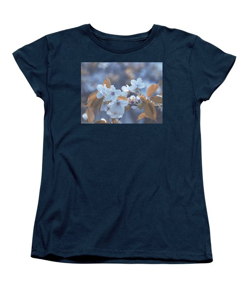 In Blue Women's T-Shirt (Standard Cut) by Rachel Mirror