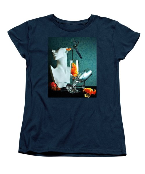 Women's T-Shirt (Standard Cut) featuring the photograph In Honor Of Karo by Elf Evans