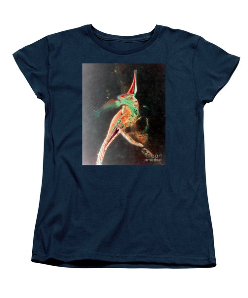 Women's T-Shirt (Standard Cut) featuring the painting In Jest by Jacqueline McReynolds
