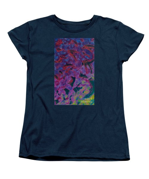 Women's T-Shirt (Standard Cut) featuring the painting In The Mind's Eye by Jacqueline McReynolds