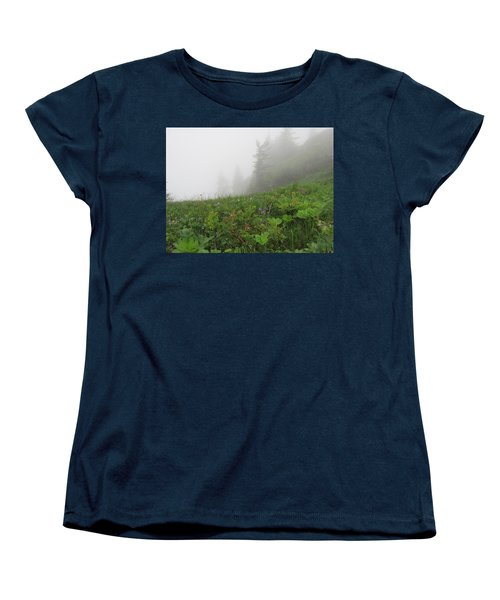 Women's T-Shirt (Standard Cut) featuring the photograph In The Mist - 1 by Pema Hou