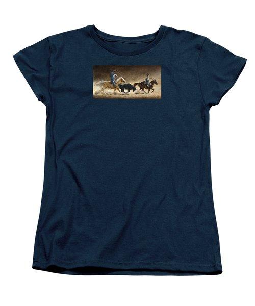 In The Money Women's T-Shirt (Standard Cut) by Kim Lockman