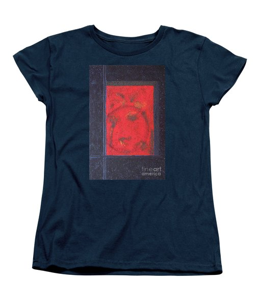 Women's T-Shirt (Standard Cut) featuring the painting In The Night Sky by Mini Arora