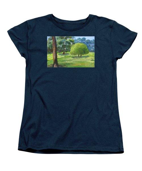 In The Park Women's T-Shirt (Standard Cut) by Mini Arora